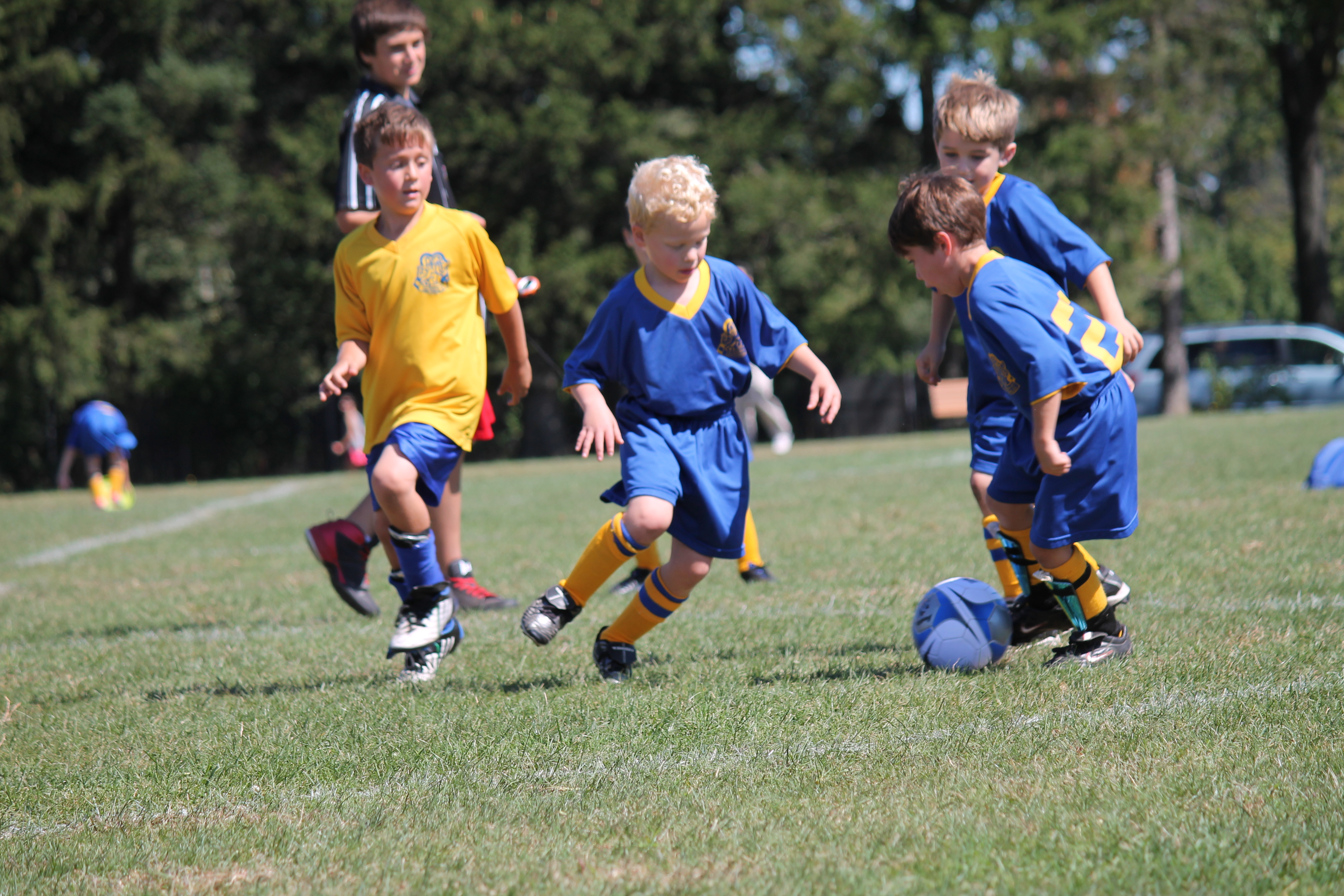 Soccer Plays For Kids